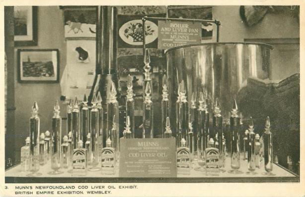 Munn's Newfoundland Cod Liver Oil Exhibit, 1924