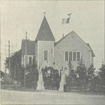 Coughlan Hall, ca. 1920
