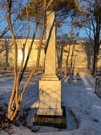 Archibald Munn gravesite, 2019
