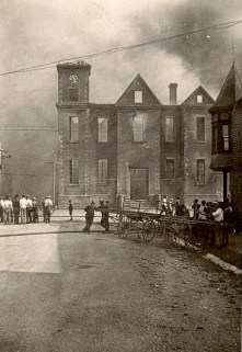 1944 fire - Government Building & Strapp's