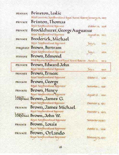 Book of Rembrance Ottawa copy
