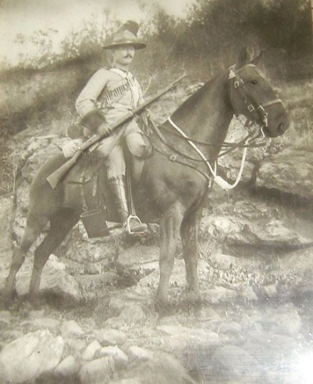 Ernest Sheppard (1878-1955), Veteran of the Boer War