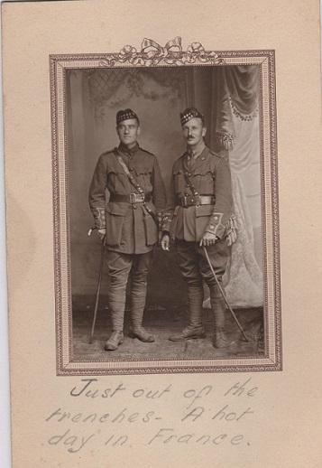 Capt. D.C. Sheppard 15th Battalion Canadian Division 001