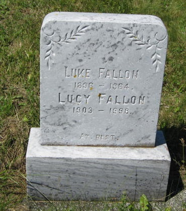 Fallon, Luke R.C. Cem. Hr. Grace