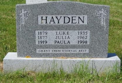 Hayden, Luke R.C. Cem. Hr. Grace