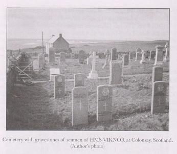 HMS Viknor Headstones