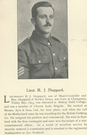 Lt. R.J. Sheppard