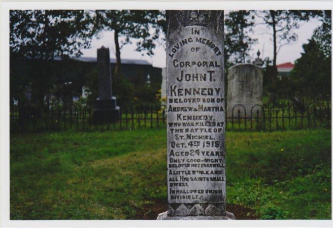 Memorial Headstone U.C. Cemetery