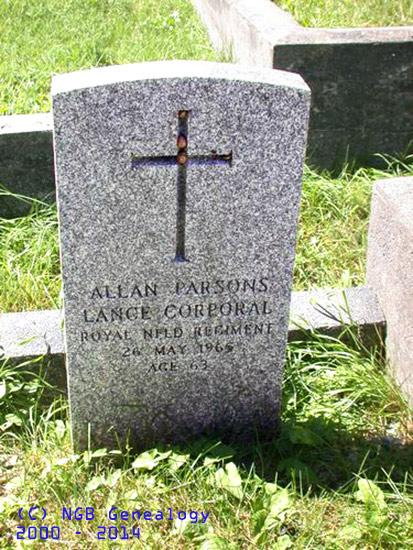 Parsons, Allan HS
