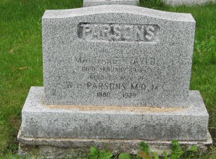 Parsons, William Henry Presbyterian Cemetery Hr. Grace