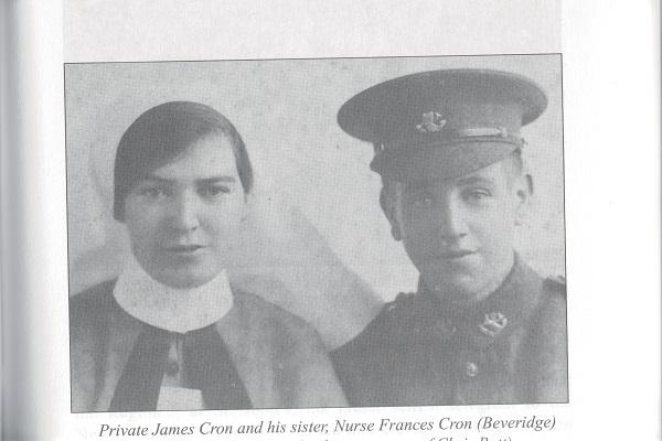 Pte. James Cron & sister Nurse Frances Cron