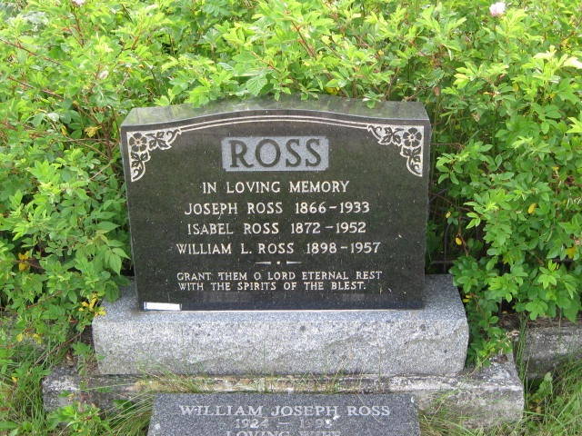 Ross, William L. St. Pauls Cem., Hr. Grace, NL