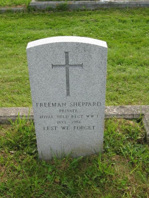 Sheppard, Freeman St. Pauls Cem., Hr. Grace, NL