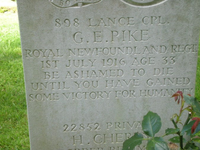 Y Ravine Cemetery Headstone 2