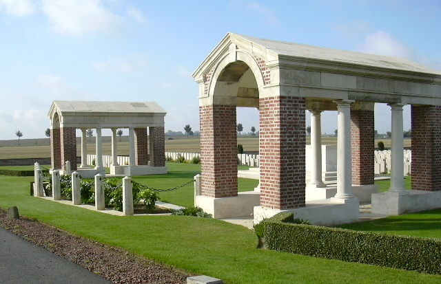 Bancourt British Cemetery, France