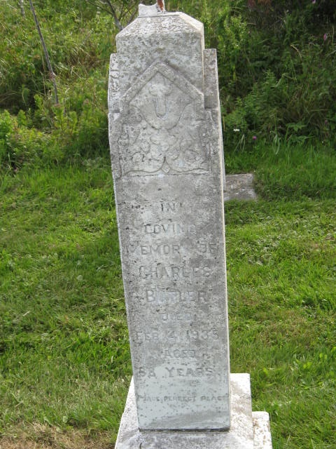 Butler, Charles St. Pauls Cem., Hr. Grace, NL