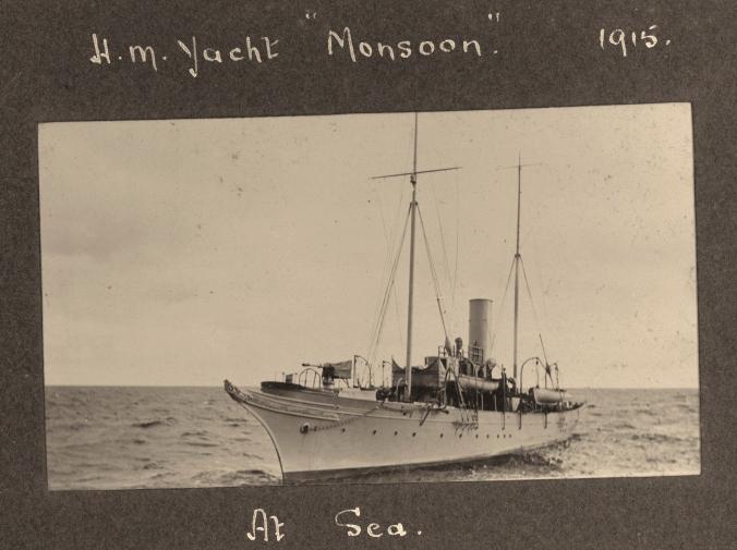 """HM Yacht MONSOON 1915"""