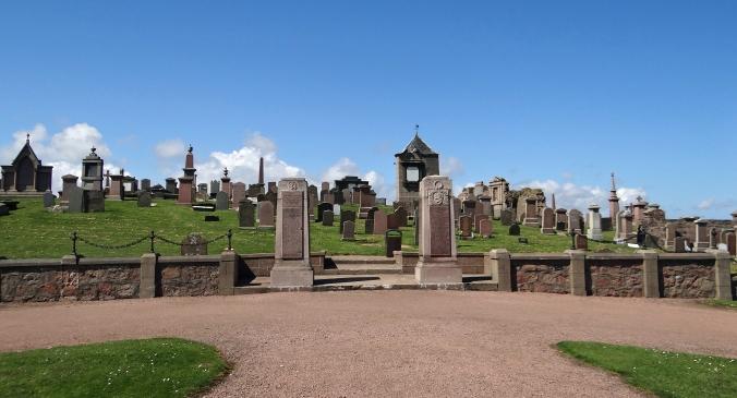 Old Churchyard Peterhead, Scotland