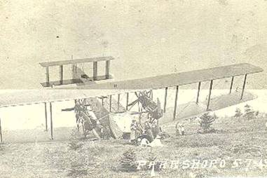 Handley Page Atlantic crashes at Parsboro, NS
