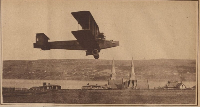 The Handley Page On the Sea