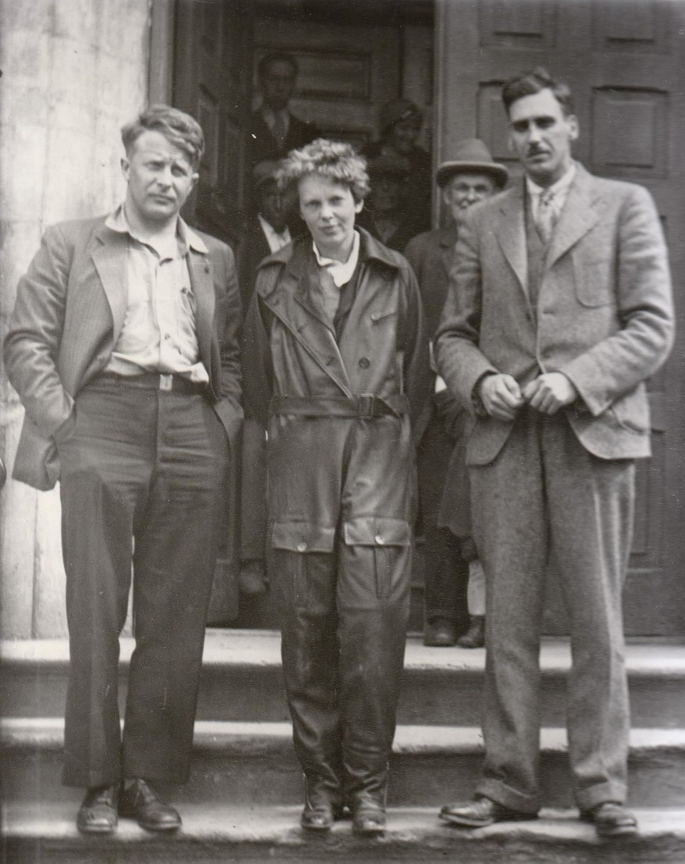 Earhart at Archibald's Hotel